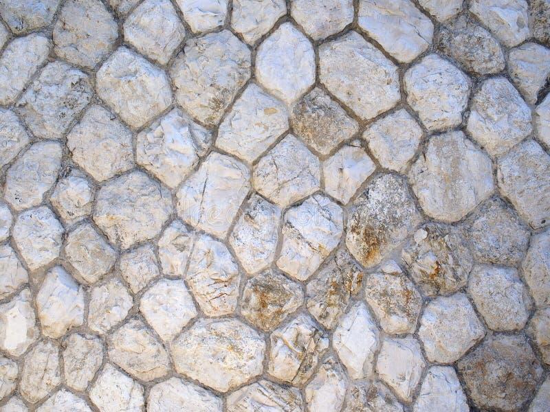 Diamants dans le mur Roches et protection image stock