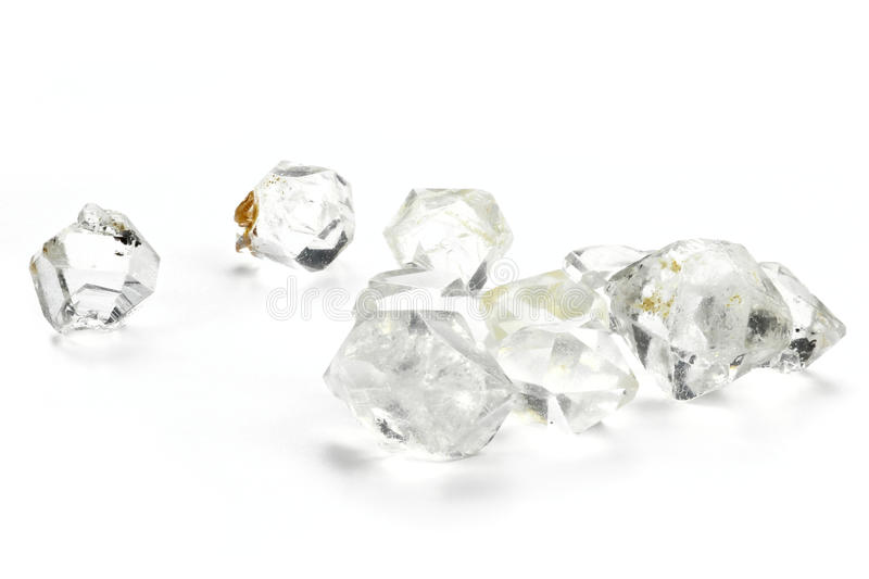 Diamants de Herkimer photo libre de droits