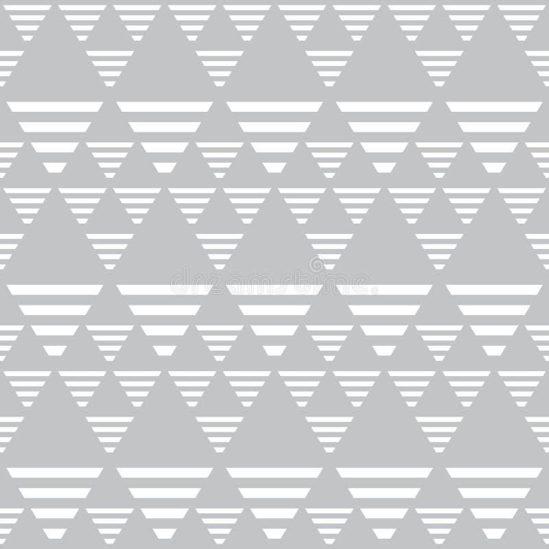 Diamants et modèle sans couture de triangles illustration stock
