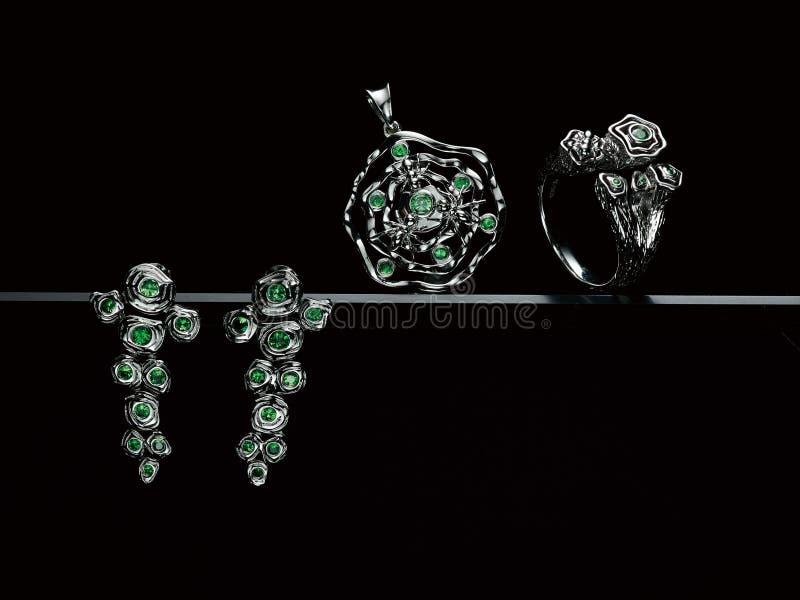 Diamantschmuck lizenzfreies stockfoto