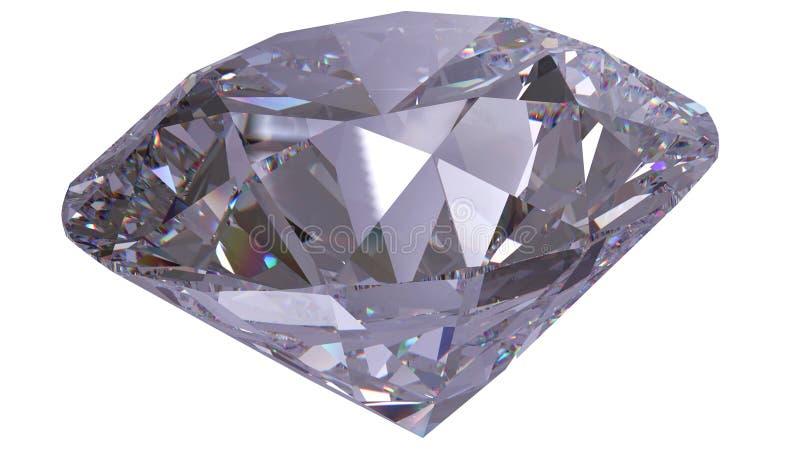 Diamantsmycken 3d framför royaltyfri illustrationer