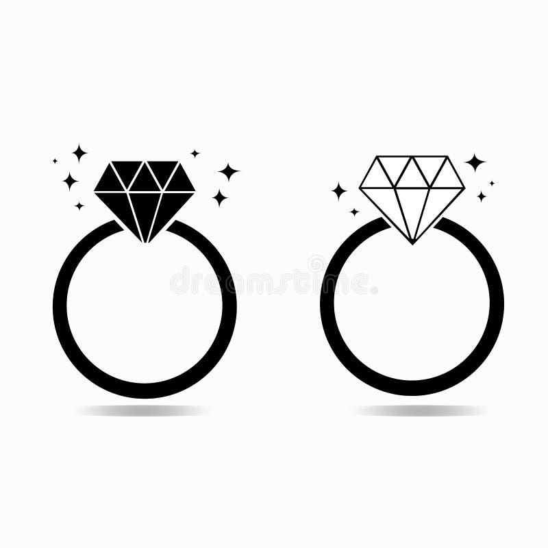 DiamantVerlobungsring des Liebeskonzeptes lizenzfreie stockfotos