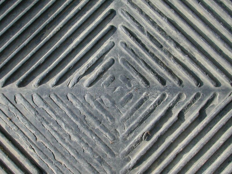 Diamantvormig Patroon Grunge Stock Afbeelding