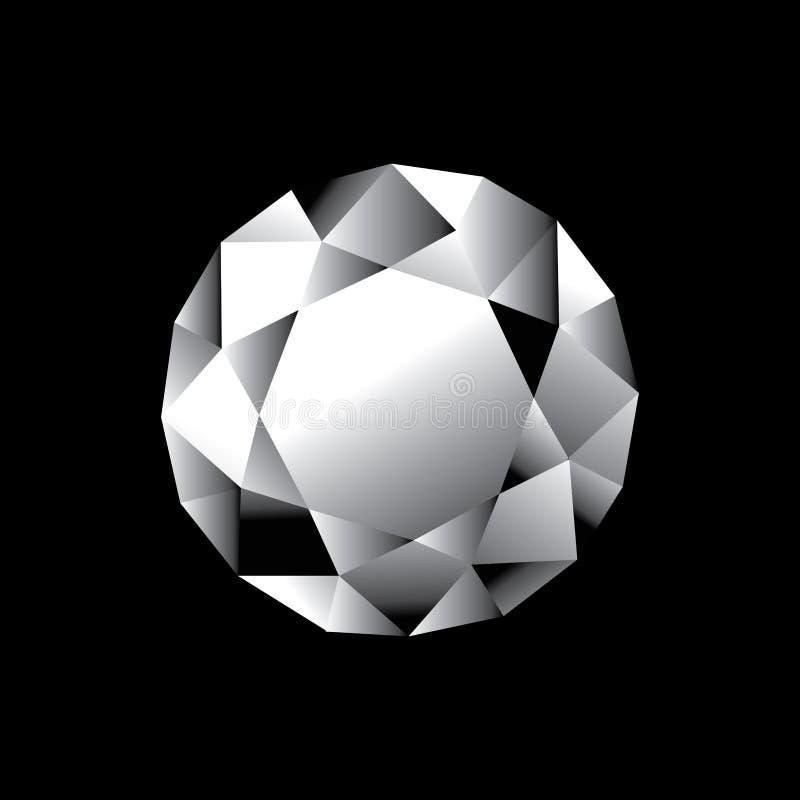 diament royalty ilustracja