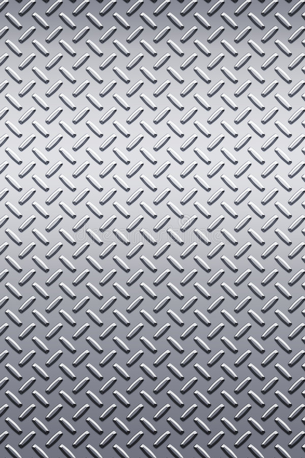 diamentowa metalu płytkę konsystencja ilustracji