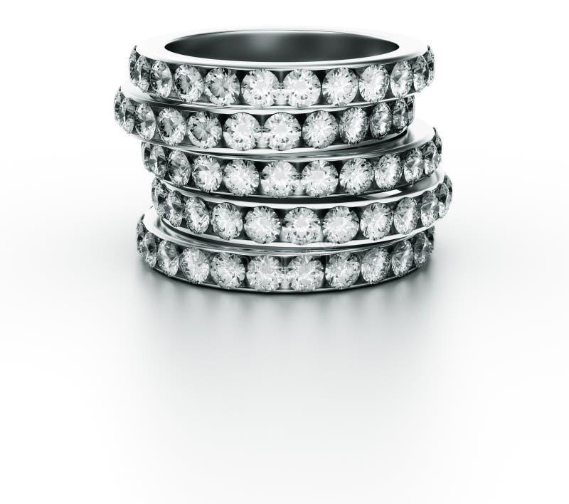 diamentowe pierścionki