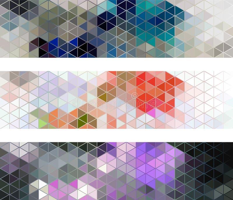 Diamentowy bezszwowy wzór, wektorowy abstrakcjonistyczny tło royalty ilustracja