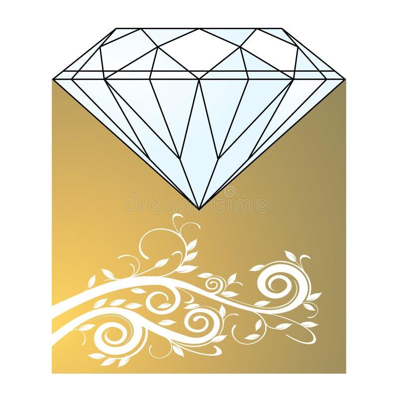 diamentowy złoto