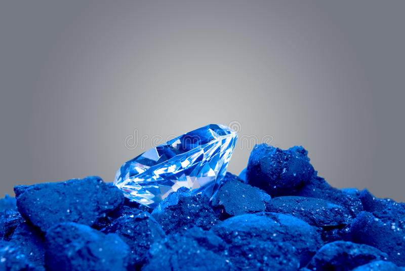 diamentu węglowy stos obraz royalty free
