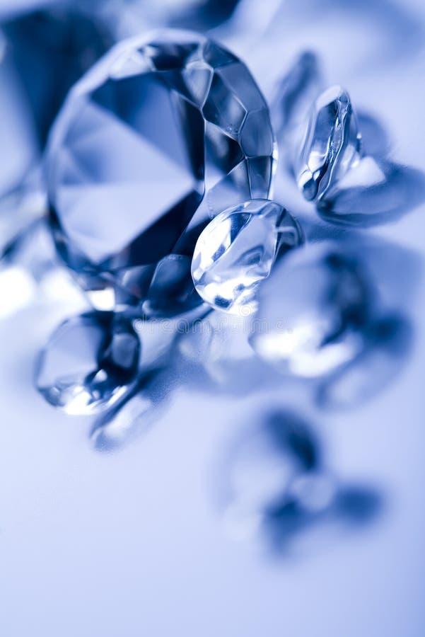 diamenty gemstones fotografia stock