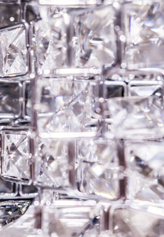 Diamenty i kryszta?y, luksusowy textured t?o obraz stock