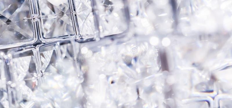 Diamenty i kryszta?y, luksusowy textured t?o fotografia stock