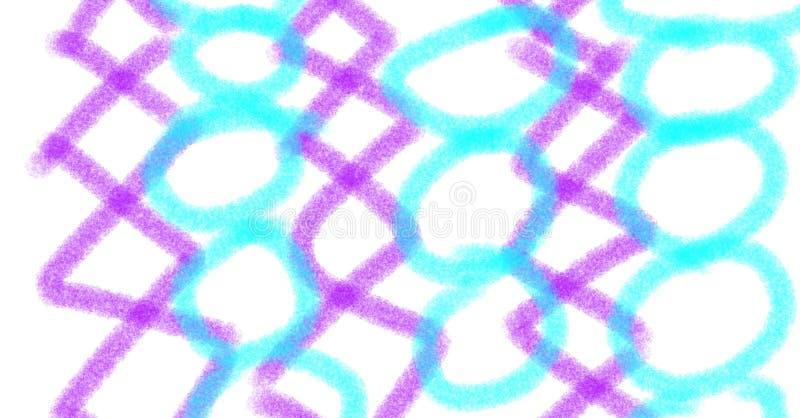 Diamenty i okręgi zdjęcie stock