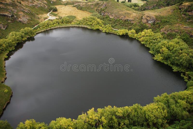 Diamond湖, Wanaka,新西兰 免版税库存图片