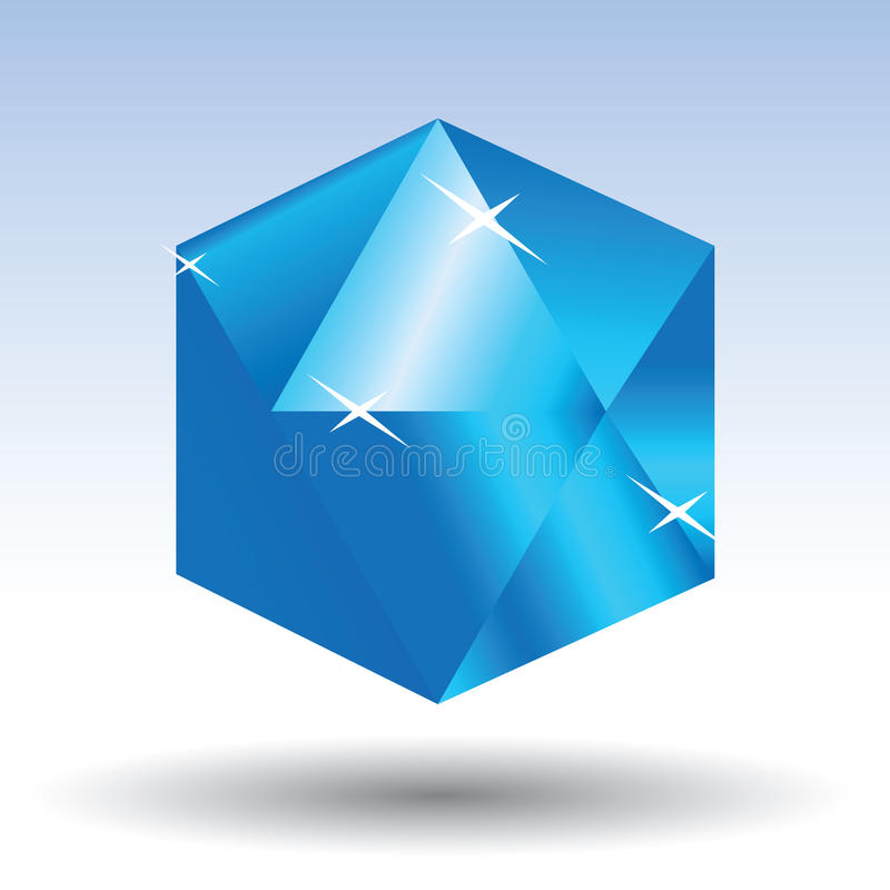 Download Diamond stock vector. Illustration of blue, jewel, marriage - 10322133