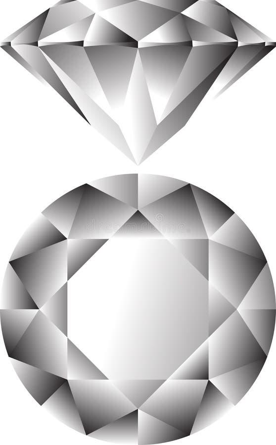 Diamond royalty free illustration