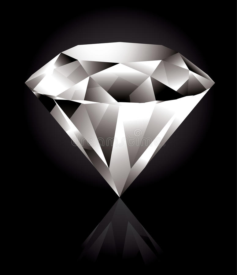 Download Diamond stock vector. Illustration of jewelry, object - 13111992