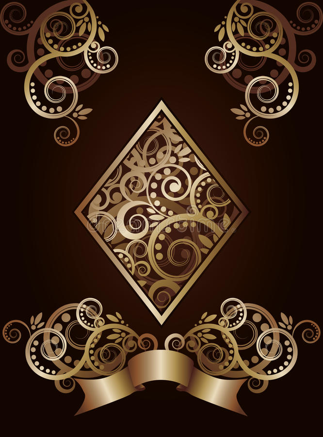 Diamond Ace Poker Playing Cards Stock Vector Illustration Of