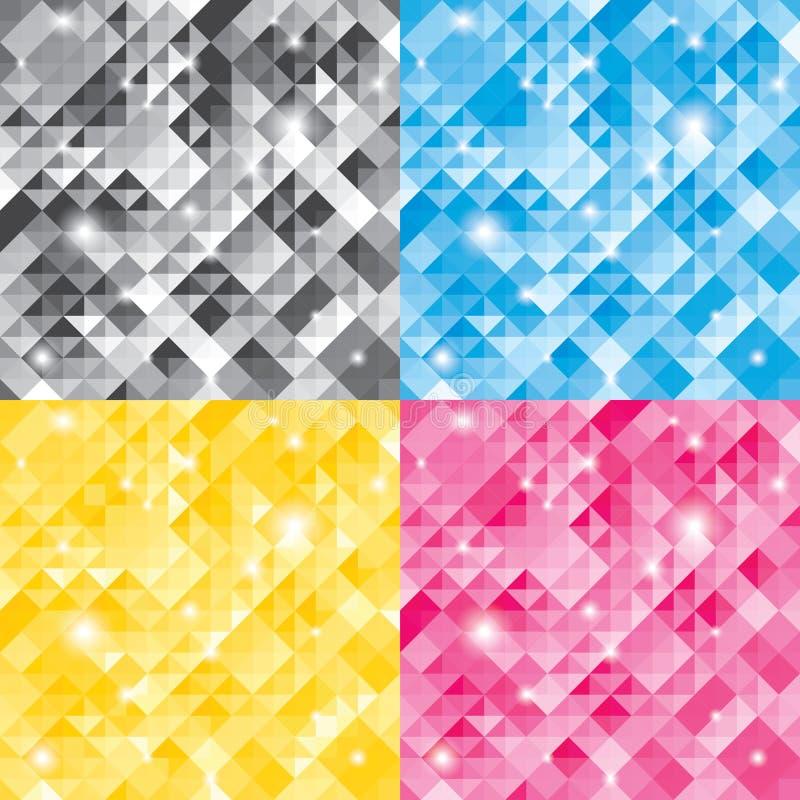 Diamond Background abstrait illustration libre de droits