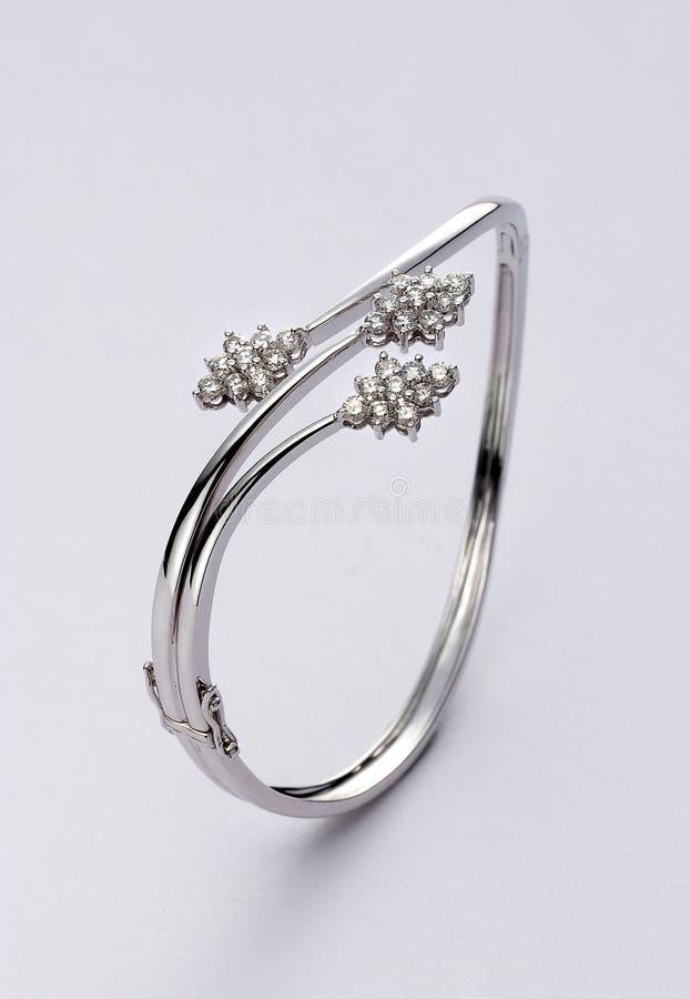 Free Diamond Bangle Royalty Free Stock Photos - 9877668