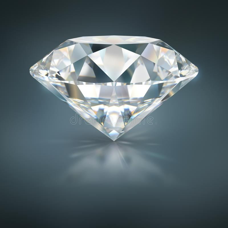 Diamond stock illustration