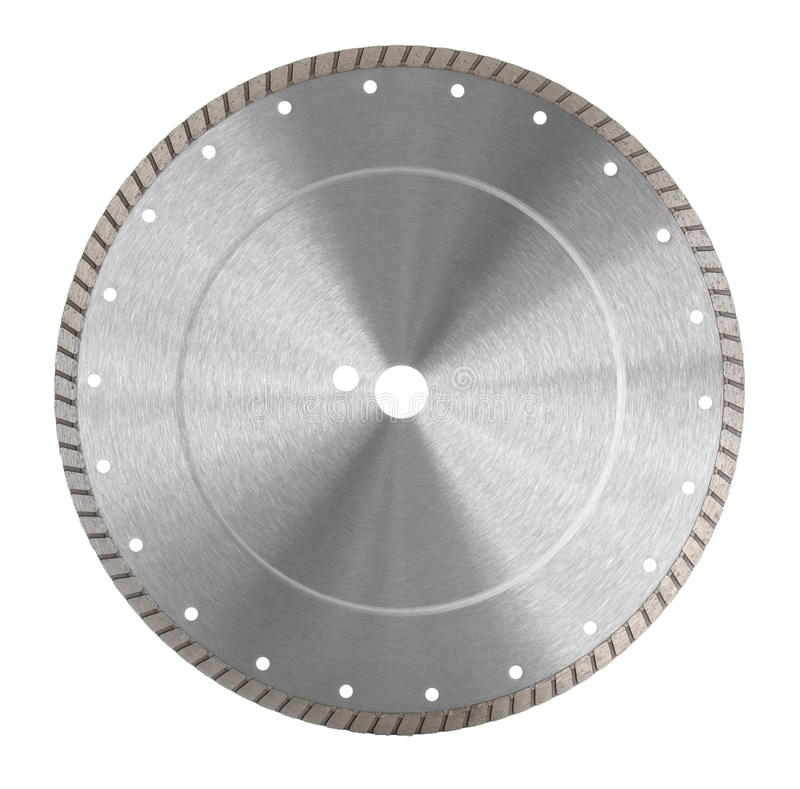 Diamond blade. For bricks and beton cutting stock photo