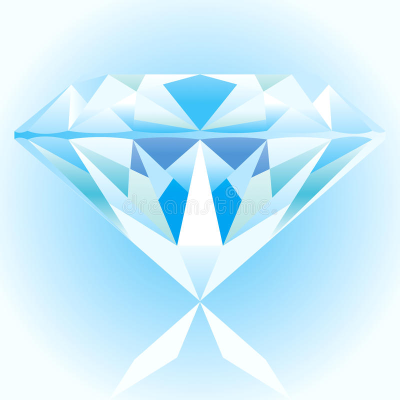 Download Diamond Blue stock vector. Illustration of amethyst, private - 11493965