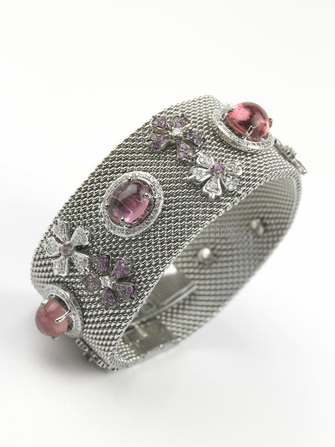 Download Diamond Bracelet stock image. Image of broad, parties - 11148987
