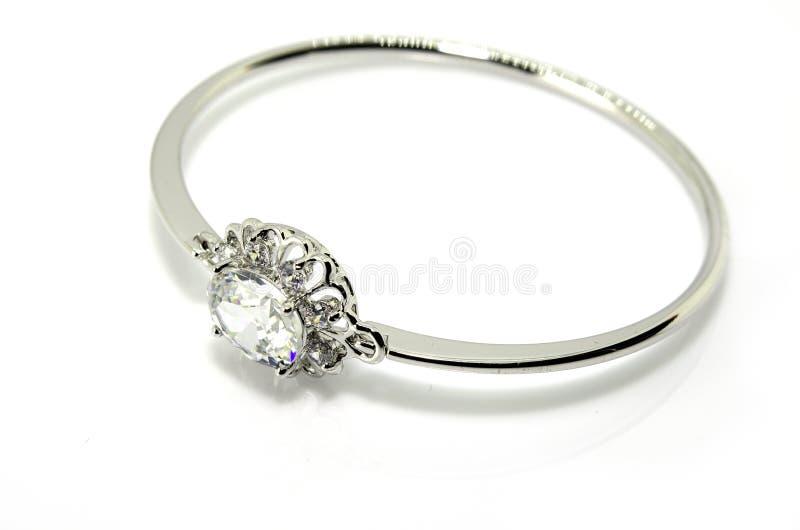 Diamond Bracelet fotografie stock