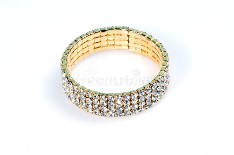Download Diamond bracelet stock image. Image of ethnicity, young - 7898917