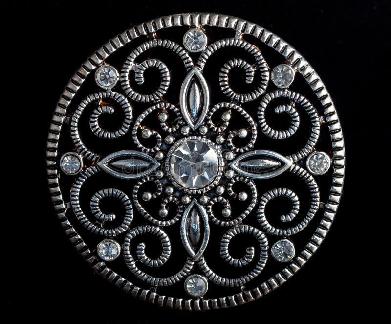 Diamond Brooch immagine stock