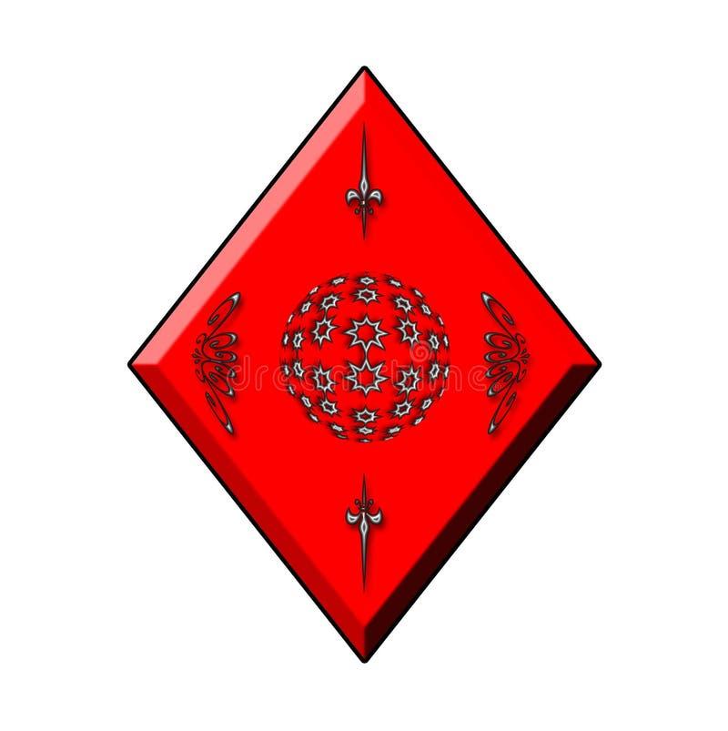 Download Diamond  for Cards stock illustration. Illustration of black - 4793994