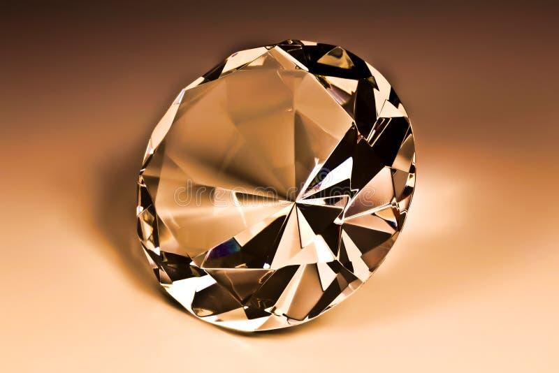 Diamond close-up stock photo