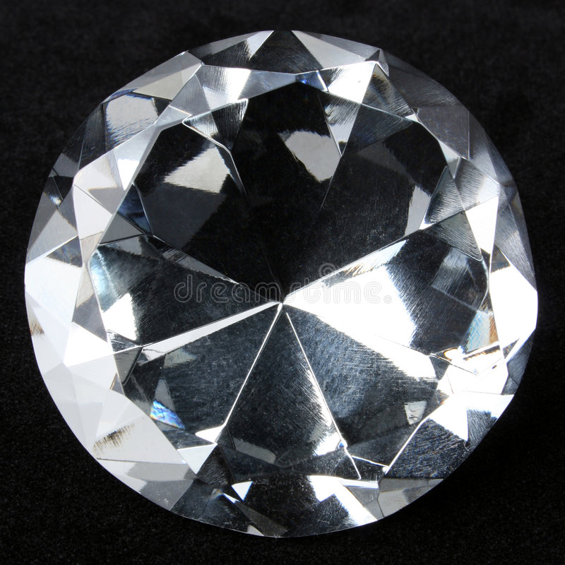 Download Diamond closeup stock photo. Image of expensive, brilliant - 6846756