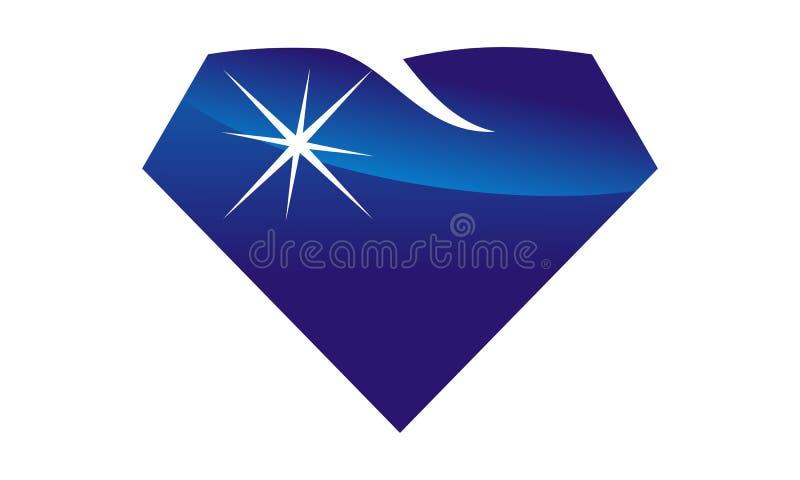 Diamond Cosmetic Dentistry ilustração stock