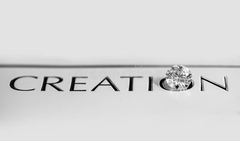 Diamond Creation royaltyfri bild