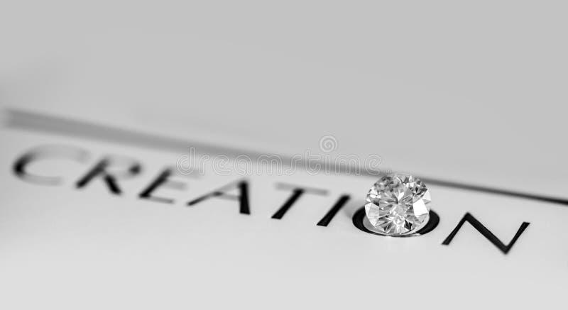 Diamond Creation royaltyfria foton