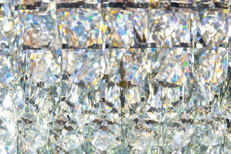 Diamond crystal glass reflect texture pattern luxury. Background royalty free stock images