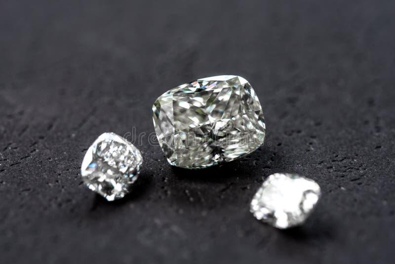 Diamond Cushion Cut stock photo