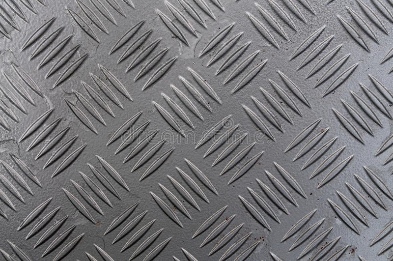 Diamond Cut Sheet Metal arkivfoto