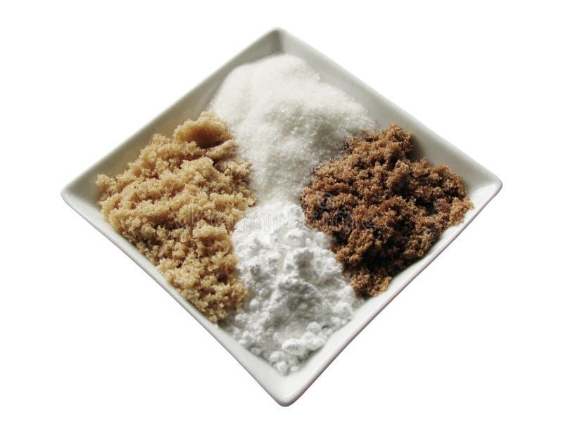 diamond czterema kostkami cukru zdjęcie stock