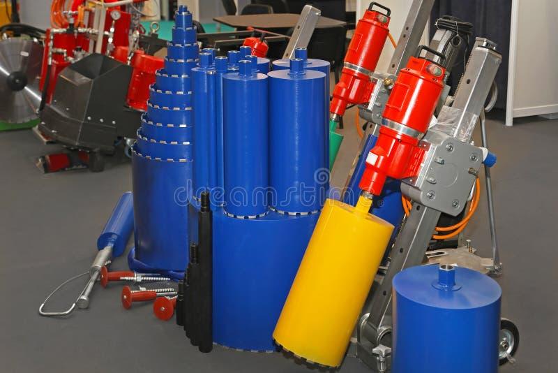 Diamond drill rig stock photos