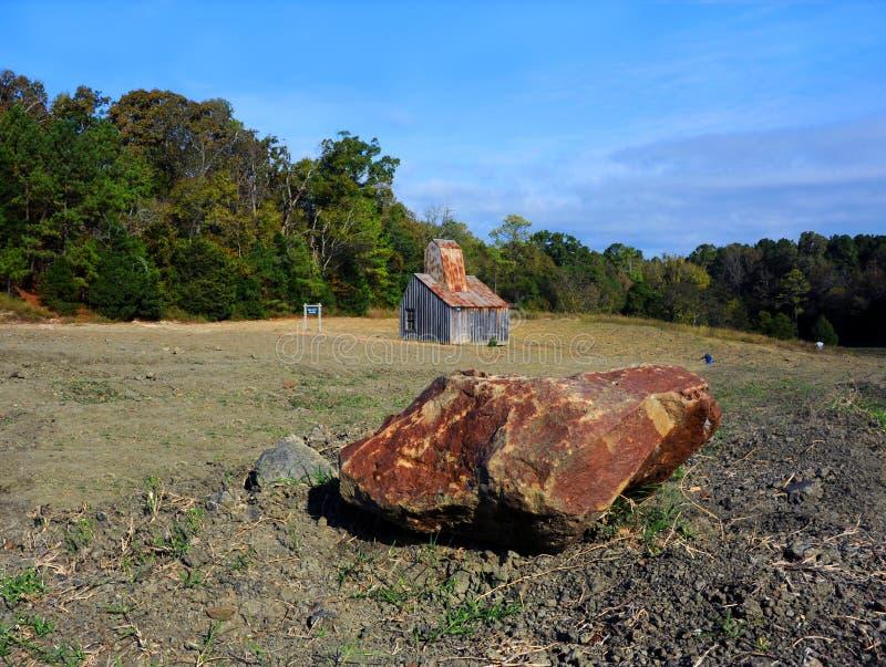 Diamond Field en Arkansas fotografía de archivo libre de regalías