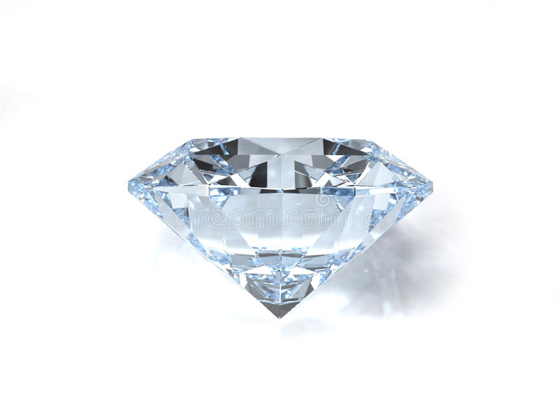Diamond gem royalty free stock photography