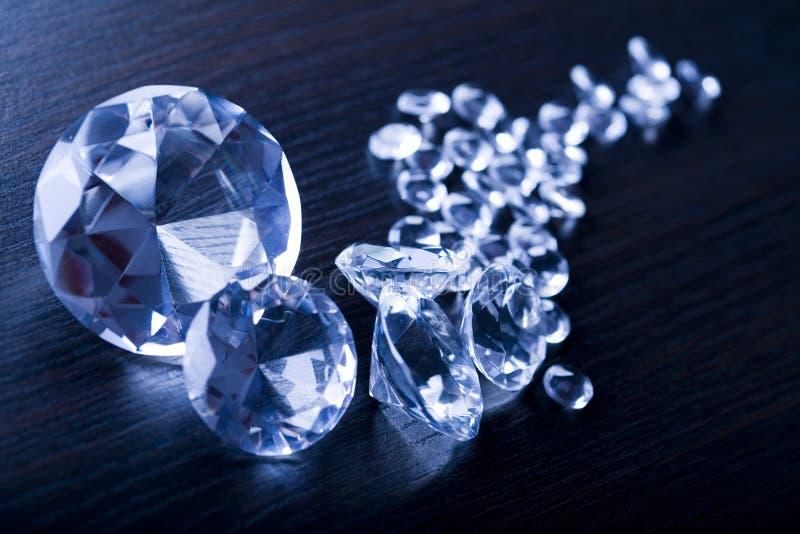 Diamond - a hard stone stock photos