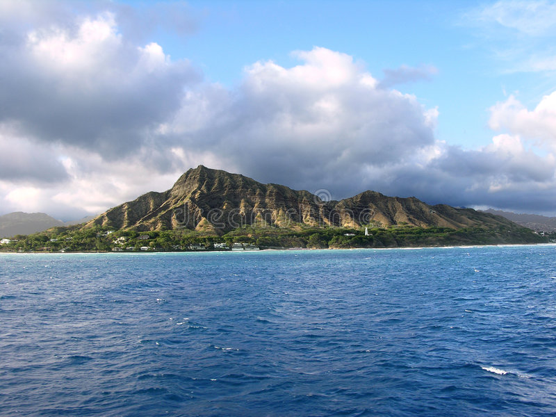Diamond Head Royalty Free Stock Photos