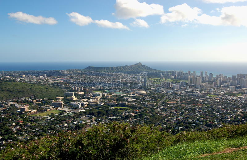 Diamond Head royaltyfri fotografi