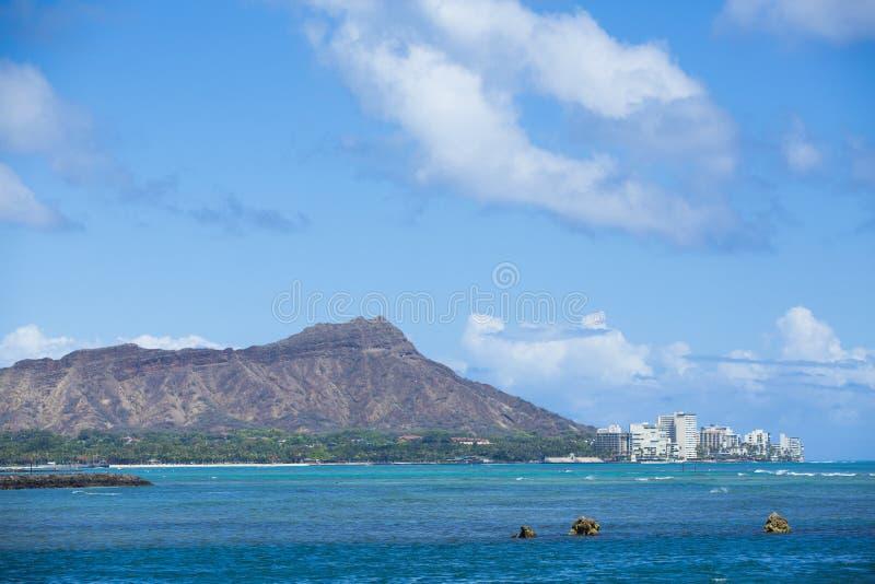Diamond Head Hawaii 004 imagen de archivo
