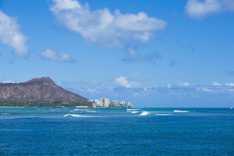 Diamond Head Hawaii 002 imágenes de archivo libres de regalías