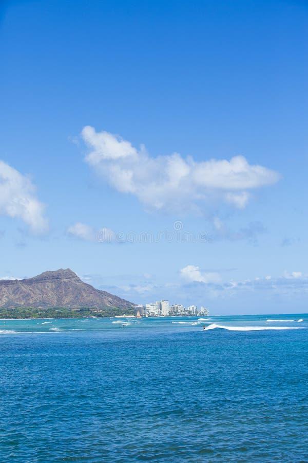 Diamond Head Hawaii 003 stock photo